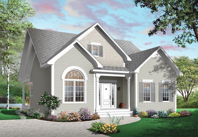 Traditional Style Floor Plans Plan: 5-545