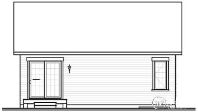 Rear Elevation Plan: 5-546