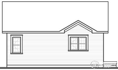 Rear Elevation Plan: 5-547
