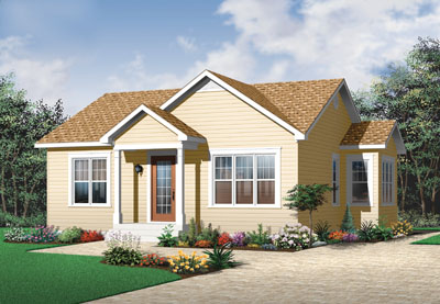 Traditional Style Floor Plans Plan: 5-548