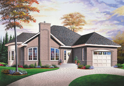 Traditional Style Floor Plans Plan: 5-551