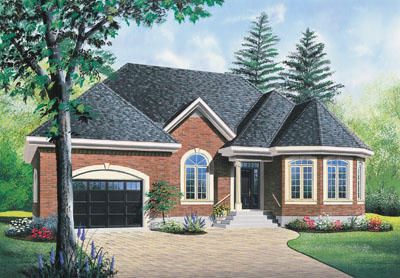 Traditional Style House Plans Plan: 5-552