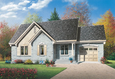 Traditional Style Floor Plans Plan: 5-554
