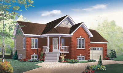 Traditional Style Floor Plans Plan: 5-555