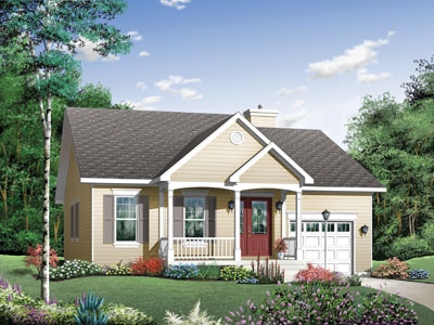 Traditional Style Floor Plans Plan: 5-559