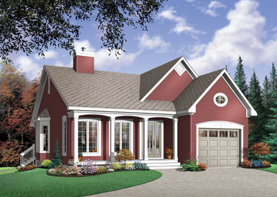Traditional Style House Plans Plan: 5-560