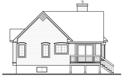 Rear Elevations Plan:5-560