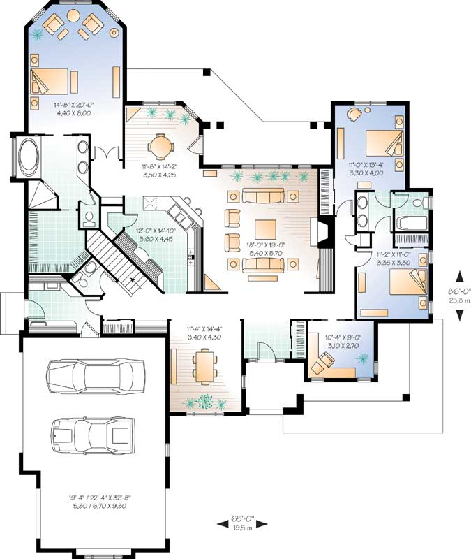 Main Floor Plan: 5-562