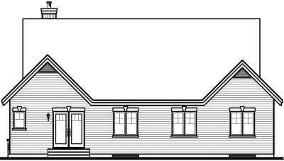 Rear Elevations Plan:5-568