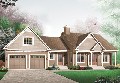 Traditional Style House Plans Plan: 5-570