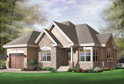 Traditional Style Floor Plans Plan: 5-572
