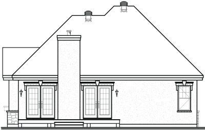 Rear Elevations Plan:5-572