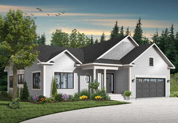 Traditional Style Floor Plans 5-573