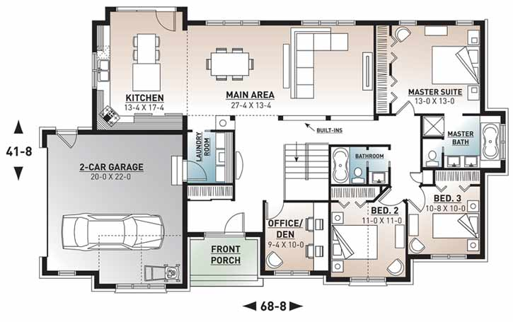 Main Floor Plan: 5-574