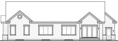 Rear Elevation Plan: 5-574