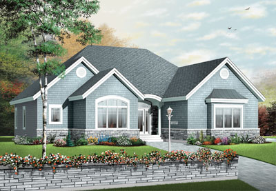 Traditional Style Floor Plans 5-575