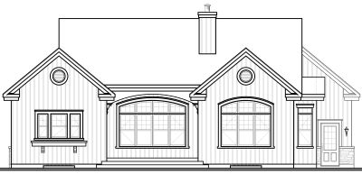 Rear Elevation Plan: 5-576