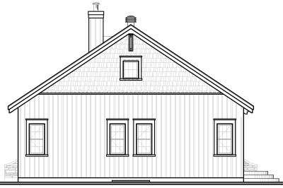 Rear Elevations Plan:5-577