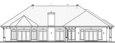 Rear Elevation Plan: 5-581