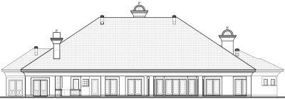 Rear Elevation Plan: 5-582
