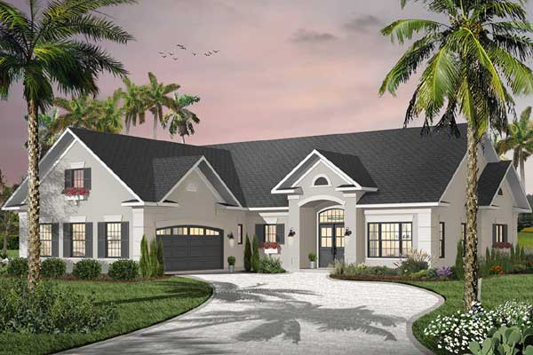 Sunbelt Style Floor Plans Plan: 5-583