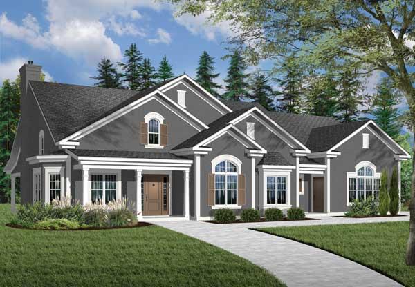 Sunbelt Style Home Design