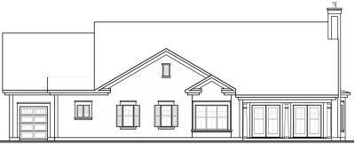 Rear Elevations Plan:5-584