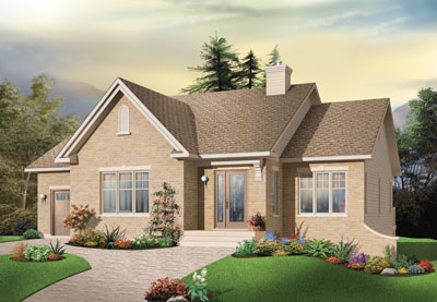 Traditional Style Floor Plans Plan: 5-587