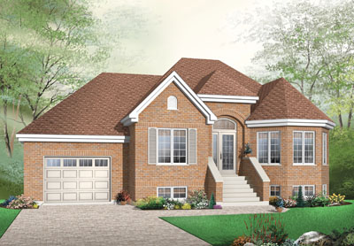 Traditional Style Floor Plans Plan: 5-588