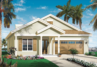 Sunbelt Style House Plans Plan: 5-590