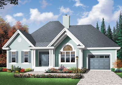 Traditional Style House Plans Plan: 5-592