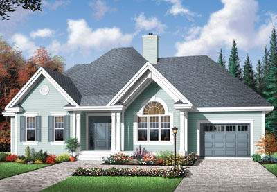 Traditional Style House Plans Plan: 5-593