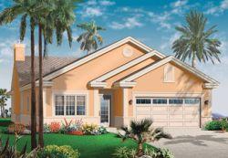 Southwest Style Floor Plans Plan: 5-595
