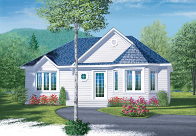 Traditional Style House Plans Plan: 5-597