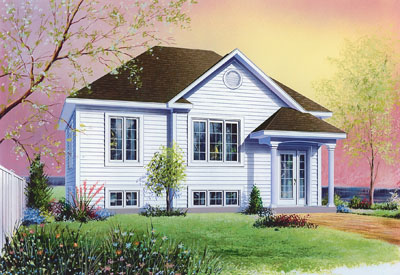 Traditional Style Floor Plans Plan: 5-600