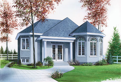 European Style Floor Plans Plan: 5-602