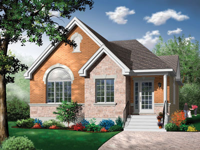 Traditional Style House Plans Plan: 5-608