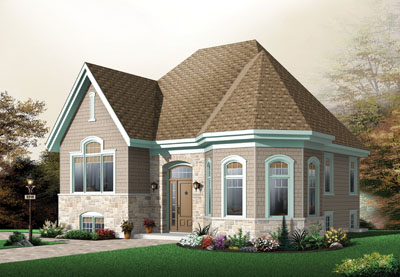 Traditional Style Floor Plans Plan: 5-609