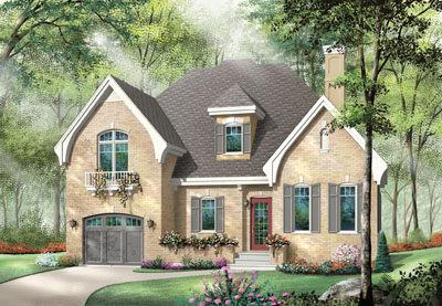 European Style Floor Plans Plan: 5-622