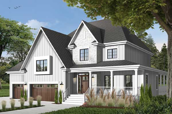 Country Style House Plans Plan: 5-630