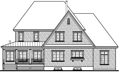Rear Elevations Plan:5-630