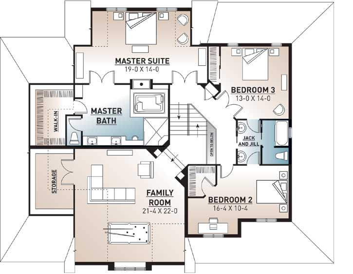 Upper/Second Floor Plan:5-630
