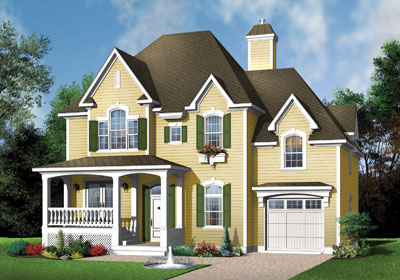 Country Style House Plans Plan: 5-635