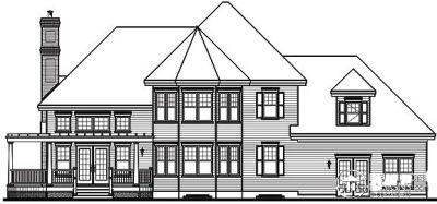 Rear Elevations Plan:5-638