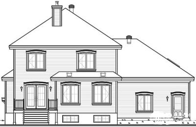 Rear Elevations Plan:5-639