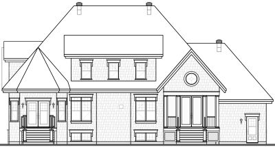 Rear Elevation Plan: 5-641