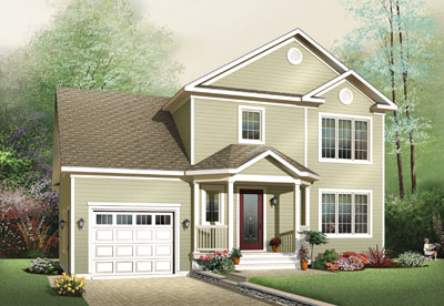 Traditional Style House Plans Plan: 5-646