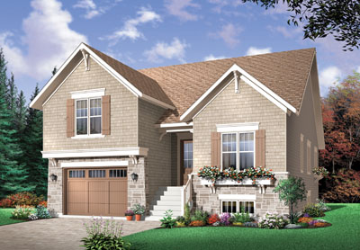 Traditional Style Home Design Plan: 5-649