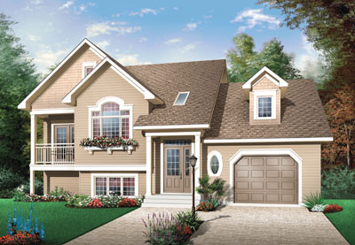 Traditional Style House Plans Plan: 5-652