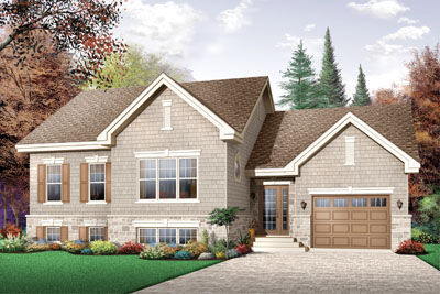 Traditional Style House Plans Plan: 5-654